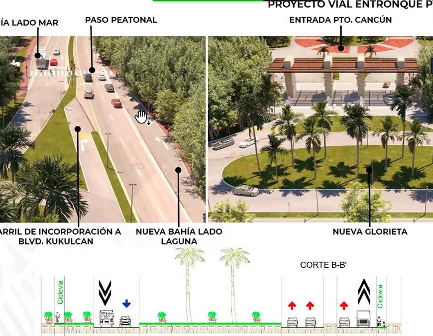 Resultado de imagen de glorieta puerto cancun