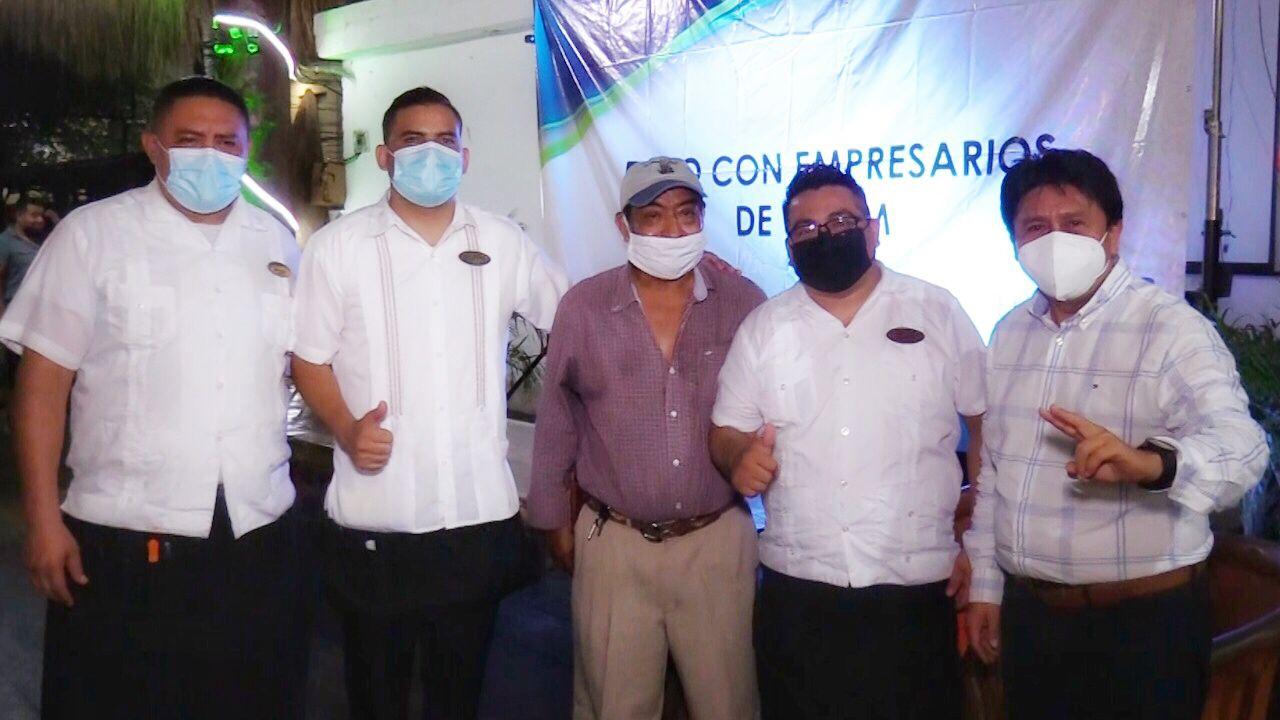 Sector empresarial de Tulum respalda el proyecto de Víctor Mas Tah